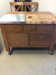 canadel gourmet kitchen island w drop leaf harris family furniture