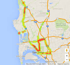 Map San Diego Measuring Distance Between Two Points On Google Maps Using