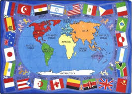 flags of the world play mats learner supply