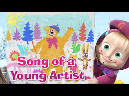watch masha bear song young artist picture perfect