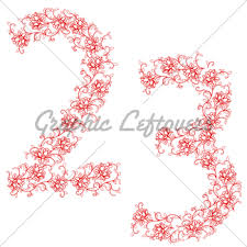 drawing ornamental alphabet letter gh gl stock images