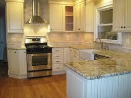 tile backsplash that goes with saint cecelia granite