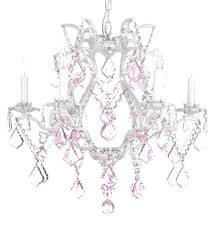 Chandelier Pink White Wrought Iron Chandeliers White Wrought Iron