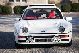 rare supercars exist a rare ford rs200 supercar is up for sale