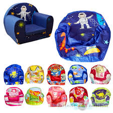 Child Armchairs Kids Children U0027s Comfy Soft Foam Chair Cover Only Toddlers Armchair
