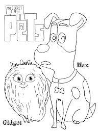 secret pets coloring pages free printable secret