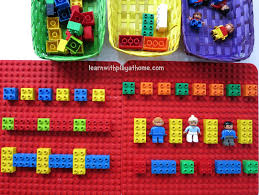 Fun Games For Kids At Home by Learn With Play At Home Learning Patterns With Lego