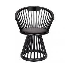 Birch Dining Chairs Fan Dining Chair Black Birch By Tom Dixon Vertigo Home