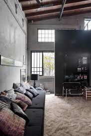 living room amazingstrial interior design chic ideas office