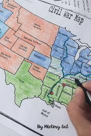 map us states during civil war map us during civil war border states volgogradnews me