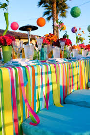 party table cover ideas table design and table ideas