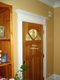 Exterior Door Casing Replacement How To Install Door Casing How To Replace Exterior Door Trim
