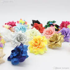 wholesale 1 77 4 5 cm artificial silk small rose flower heads home