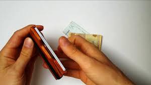 designer portemonnaie lakeforest portemonnaie aus holz kleiner praktischer designer