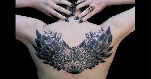 les plus beaux tatouages homme tatouage hibou tout ce qui qu u0027il faut savoir tattoome le