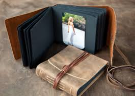 rustic wedding albums iona handcrafted books handmade leather journals and photo albums