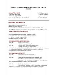 Download Free Sample Resume by Examples Of Resumes 89 Fascinating Simple Resume Example Basic