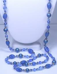 blue glass necklace vintage images Alice vintage jewelry JPG