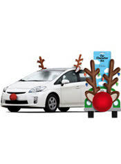 reindeer ears for car reindeer car kit reindeer car antlers party city