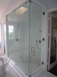 large frameless glass enclosure patriot glass and mirror san