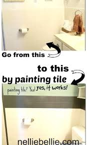 did you know can paint tile even use multispray bathroom tiles