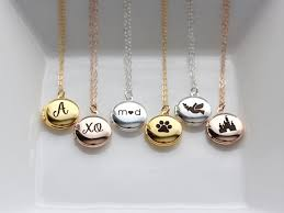 custom engraved lockets personalized locket necklace mini personalized engraved