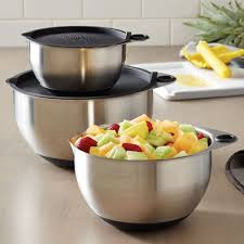pantry chef cookware stainless steel mixing bowl set shop pered chef us site