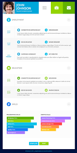 Web Design Resume Template Resume Template Website Resume Flat Web Design Flat Resume