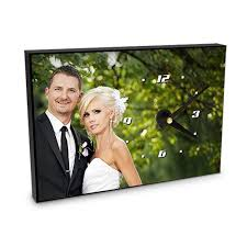 Personalized Picture Clocks Personalized Clocks Photo Clock Personalised Wall Clocks