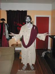 Jesus Halloween Costume Im Drummer Band Called Puzzler