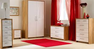 Red Oak Bedroom Furniture by Oak And White Gloss Bedroom Furniture Descargas Mundiales Com