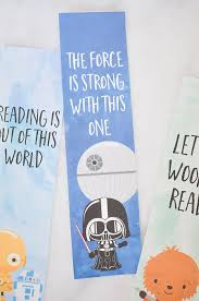 free printable halloween bookmarks star wars bookmarks u2013 free printables for kids camping