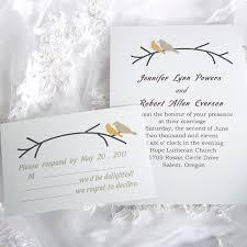 bird wedding invitations simple and birds wedding invitations ewi122 as low as