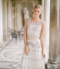 deco wedding dress 48 gorgeous deco bridal gowns that wow happywedd