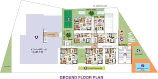 100 floor plan for gym space kailash uptown by space india