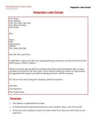 33 printable resignation letter free samples in pdf doc