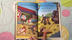paw patrol meet tracker book