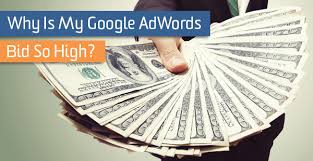 my bid why is my adwords bid so high lunametrics