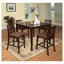MiBasics Glenwood Pc Pub Dining Table Set In Espresso  Target - Espresso dining room set