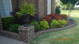Simple Landscape Design by Front Yard Landscape With Small Tree Ideas And Green Bush Simple