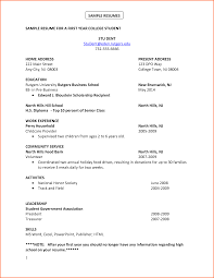 8 college student resume example budget template letter