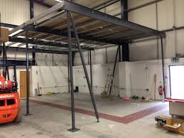mezzanine floor suppliers u0026 installers northamptonshire uk