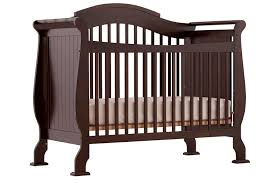 Sleigh Bed Cribs Stork Craft Valentia Convertible Crib Espresso Baby