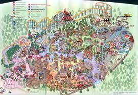 Six Flags Florida Theme Park Brochures Six Flags Mexico Theme Park Brochures