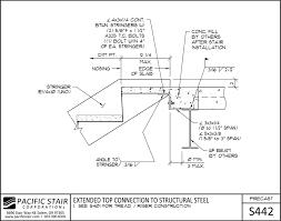 Precast Concrete Stairs Design L400 Precast Pacific Stair Corporation