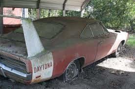 Muscle Car Barn Finds Barn Find 1969 Dodge Daytona Charger Discovered In Alabama