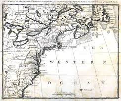 Map Of North East America by General Braddock U0027s Defeat On The Monongahela In 1755 Part 1