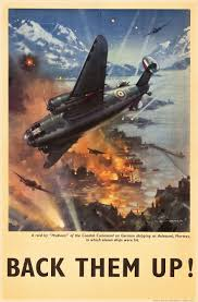corsair r ervation si e war ii propaganda royal air 1940s raf poster