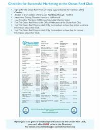 Salesforce Developer Resume Samples by Ocean Reef Chamber Of Commerce U003e Publications U003e Newsletter