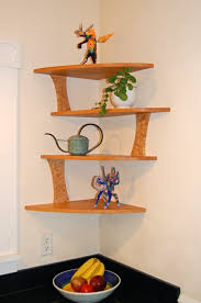 Wood Shelf Plans For A Wall by 20 Cool Corner Shelf Designs For Your Home Wooden Shelves